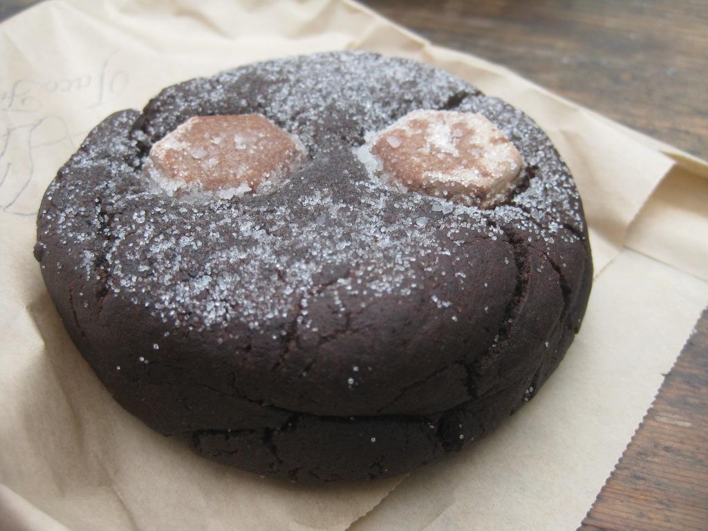Chocolate-Diablo Cookie @ Tacofino
