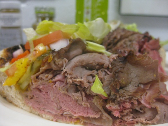 Sully's Roast Beef.