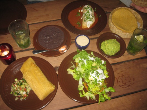 A bit of this and that at Gracias Madres