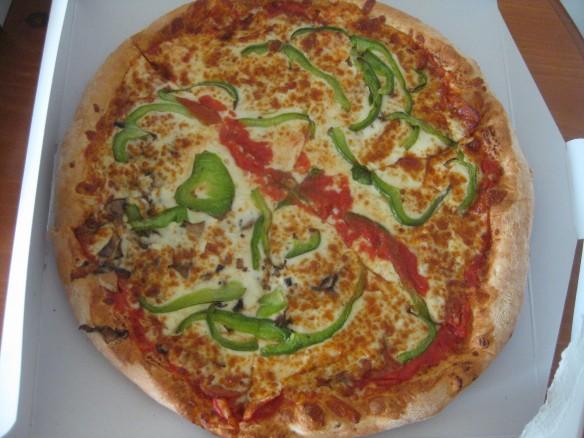 Combination pizza at Napoli - Sydney