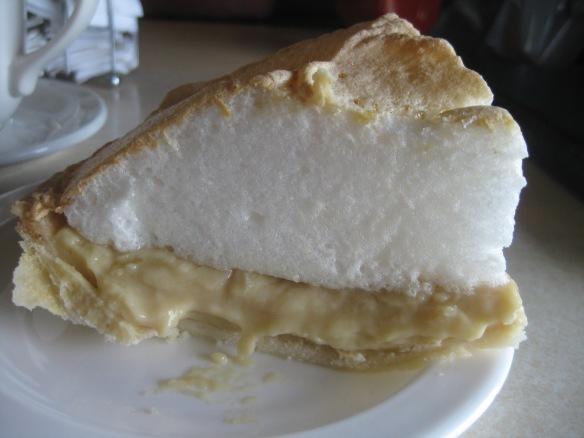 Butterscotch Pie at Cedar House Bakery